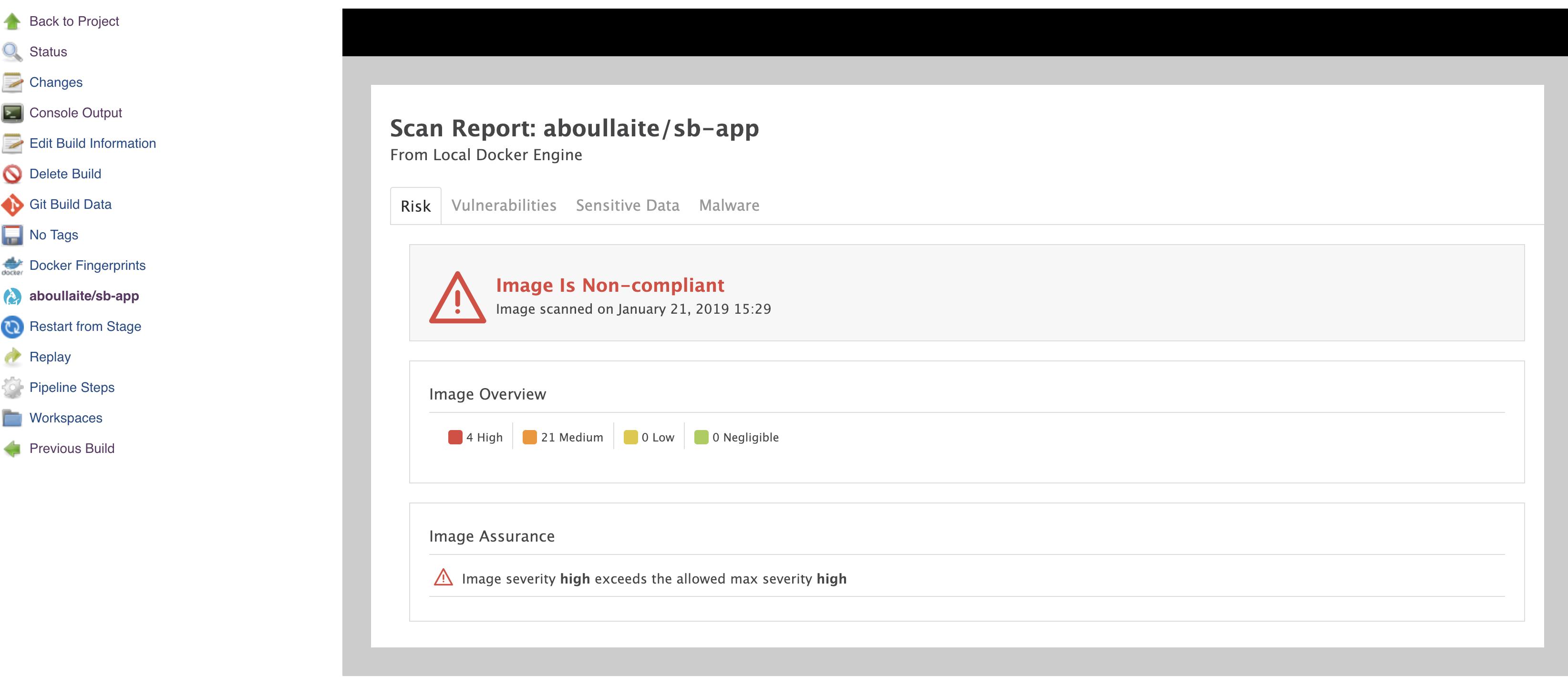 Docker security scanning using Microscanner (in Jenkins & Gitlab CI)!