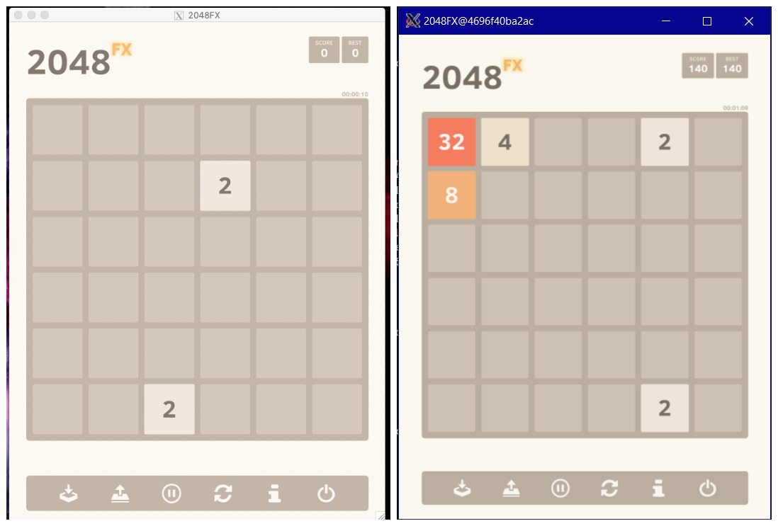 fx2048 on Windows & Windows